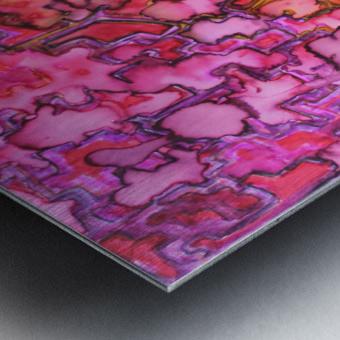 RANDOM Metal print