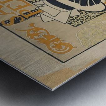 Alexandre de Riquer - Salon Pedal Metal print