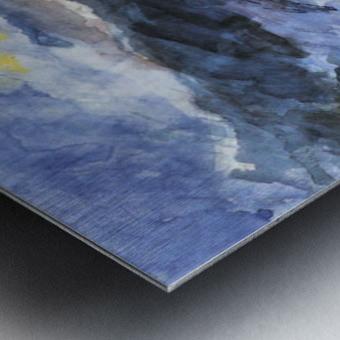 Walchensee -4- by Lovis Corinth Metal print
