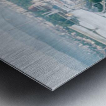 Budapest panorama Metal print