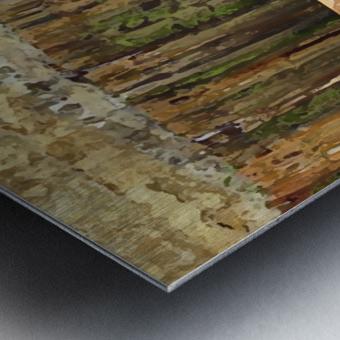 0195a Metal print