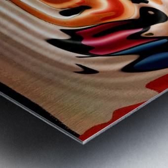 ABSTRACTO-2002 Drainage Metal print