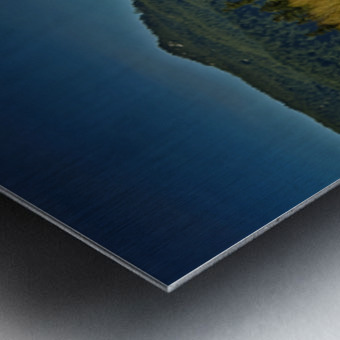 Comox Glacier Panorama Metal print