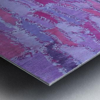 shades of purple Metal print