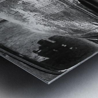 Belle vieille carcasse - Beautiful Old Carcass N&B Metal print