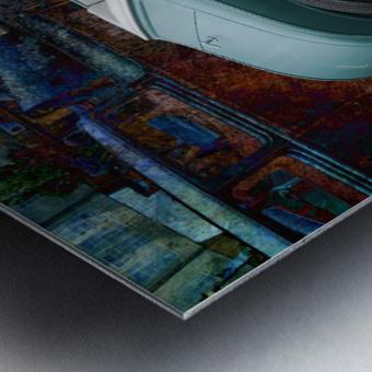 El Torro Metal print