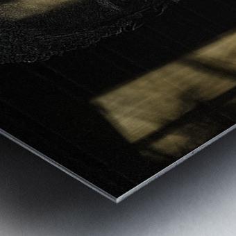 Entrer dans la lumiere -  Step into the light Metal print