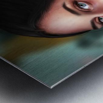 Eves apple Metal print