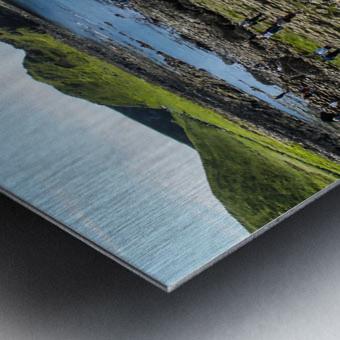 The Giants Causeway in Northern Ireland Metal print