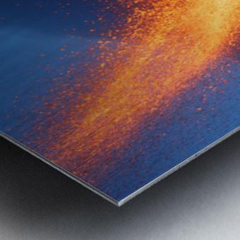 Hot Landscape Metal print