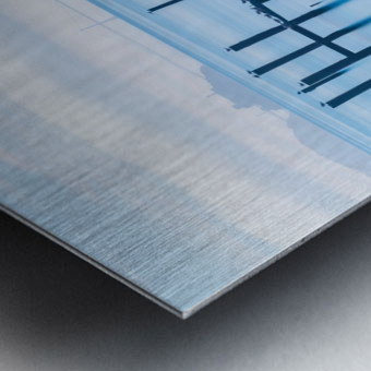 The Old Pier of Sausalito Metal print