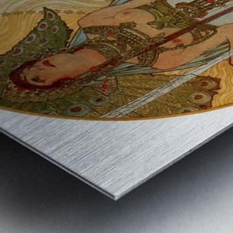 Salammbo by Alphonse Mucha Metal print