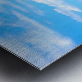 Skyline Lucerne Switzerland Metal print
