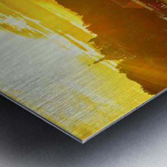 Summer Sunset over Lucerne Switzerland Metal print