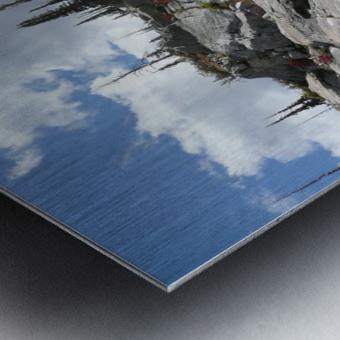 Easy Climb to Grouse Mountain Metal print