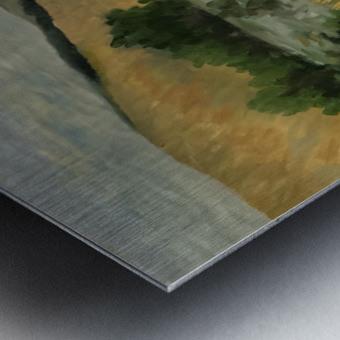 Arkansas field Metal print