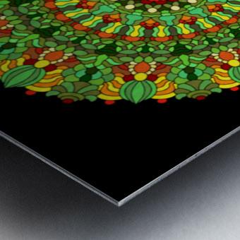 Mandala 2029 Metal print