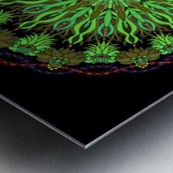 Mandala 2007 Metal print