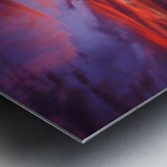 Euphoria Before Bliss - 2013 ARTWORK OF THE YEAR WINNER - Pink and Orange Kissed Skies over Hawaii at Sunset Metal print
