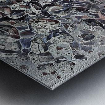 Headstones Metal print