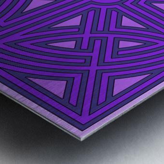 Maze 6013 Metal print