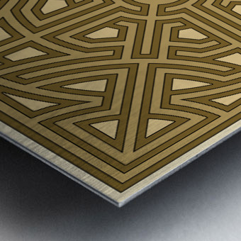 Maze 6012 Metal print