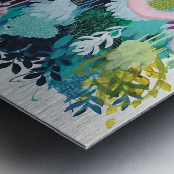 Springtime Wanderer Metal print