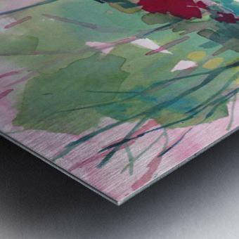 Wildflower Field Metal print