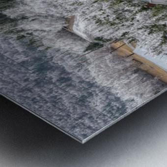 Cheticamp Ice Storm Metal print