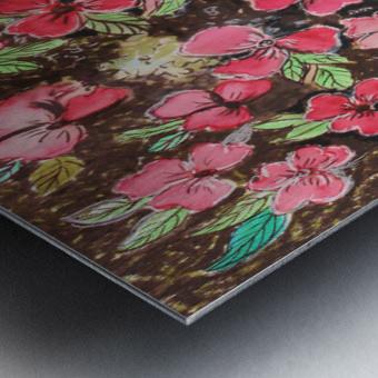 Redflowers Metal print