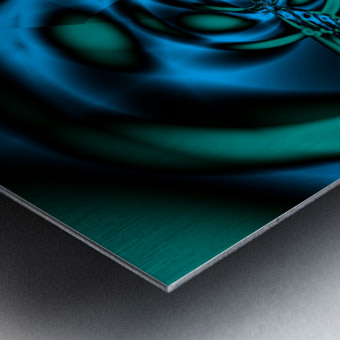 Wormhole approach Metal print