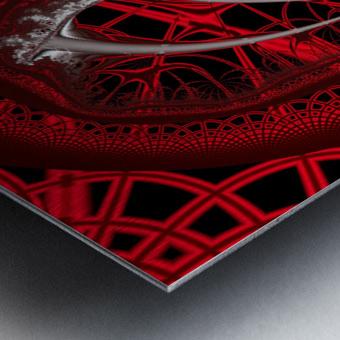 Vampyric cell Metal print