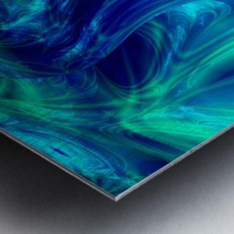 Glasswaves Metal print