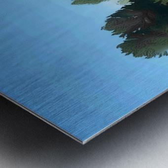 Fields of Green Metal print