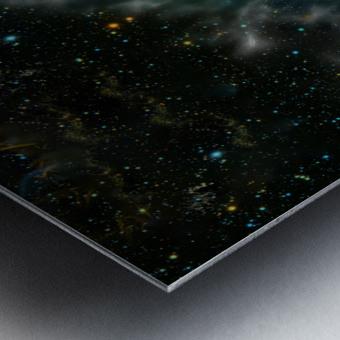 A Trillion Stars   Metal print