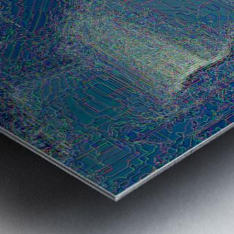 Waterfall Prism Metal print