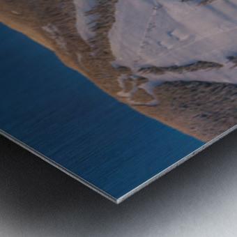 Valley Twilight Wide Metal print
