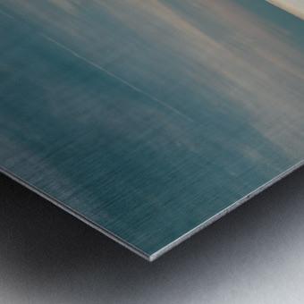 Technicolour Contemplation Metal print