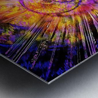 Light Body Activation Metal print