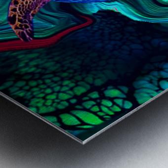 Turtles en Saison 5 Metal print