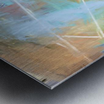 Cosmic Meditation  Metal print