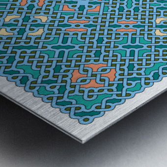 Celtic Maze 5014 Metal print