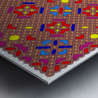 Celtic Maze 5012 Metal print