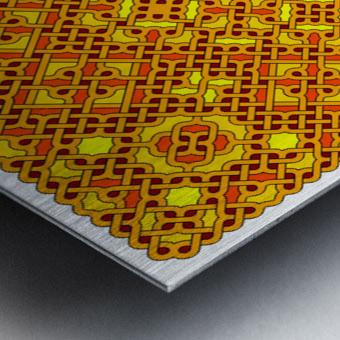 Celtic Maze 5016 Metal print