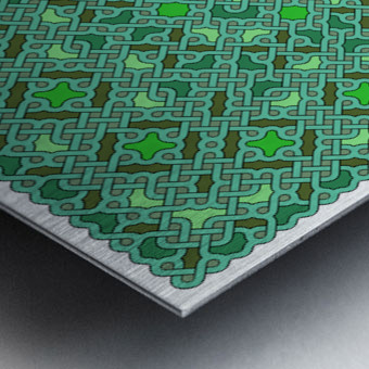 Celtic Maze 5015 Metal print