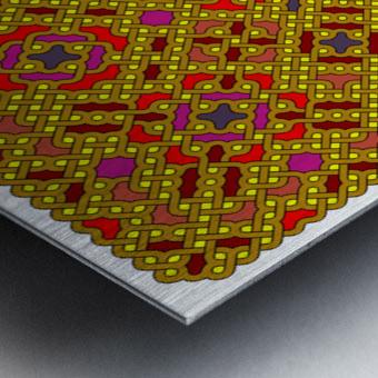Celtic Maze 5013 Metal print