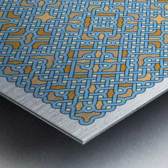 Celtic Maze 5022 Metal print