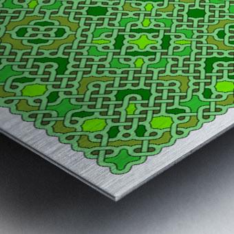 Celtic Maze 5021 Metal print