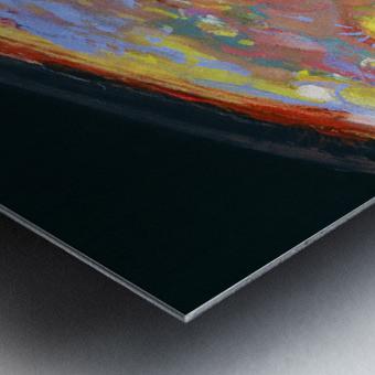 Worlds First Martianpressionist Painting Metal print