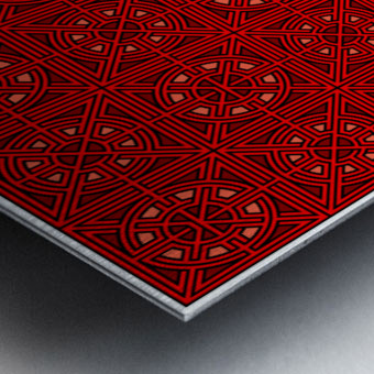 Labyrinth 3613 Metal print
